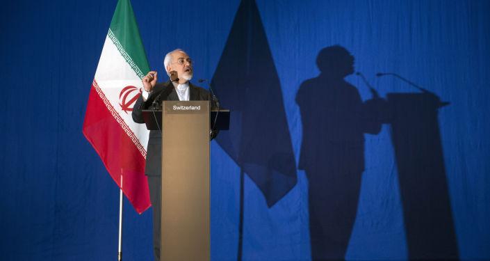 Ministr zahraničí Íránu Mohammed Džavad Zarif