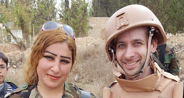 Český novinář Jiří Just a voják syrské armády