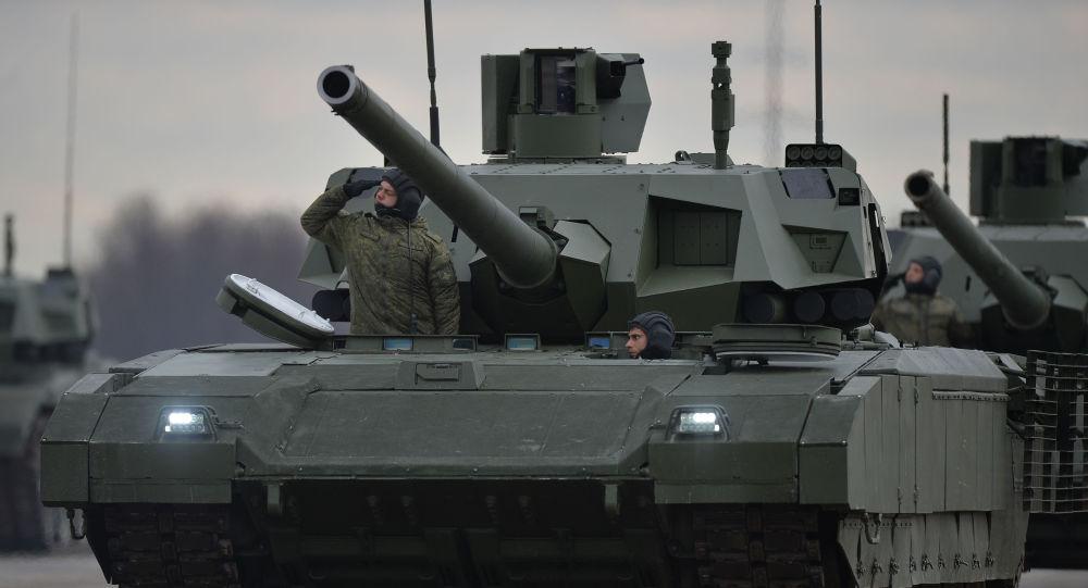 Nejmodernější ruský tank Armata