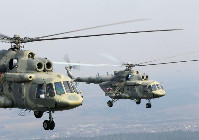 Vrtulníky Mi-17