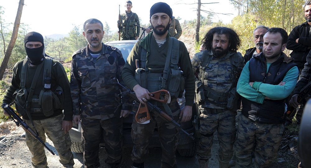 Alparslan Çelik a jeho spolubojovníci