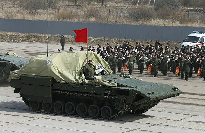 Obrněný transportér Armata