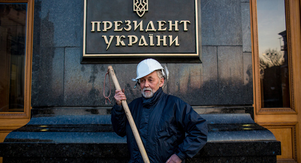 Porošenkova administrativa v Kyjevě