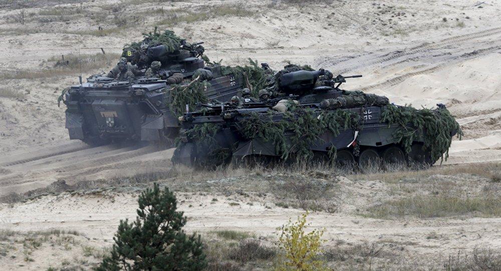 Německo-lotyšské cvičení Operation Hazel