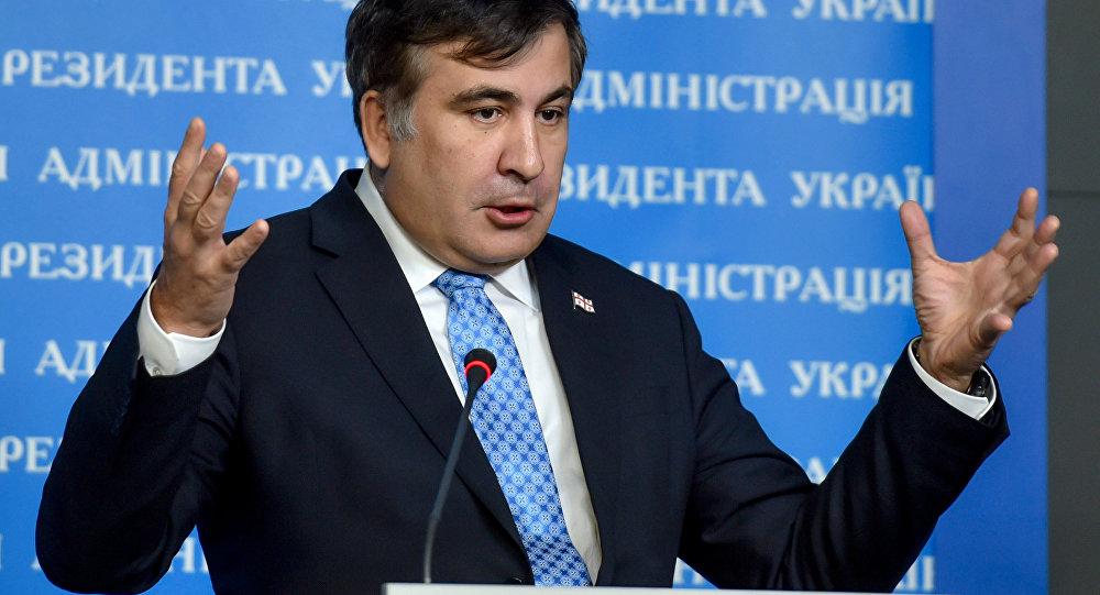 Gubernátor Oděské oblasti Michail Saakašvili