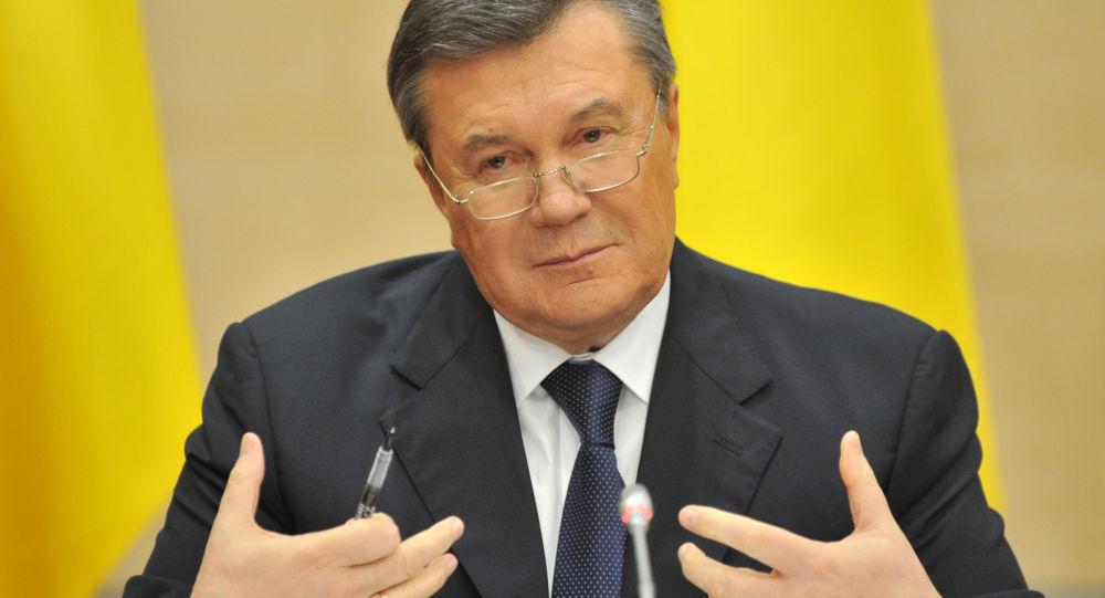 Bývalý prezident Ukrajiny Viktor Janukovyč