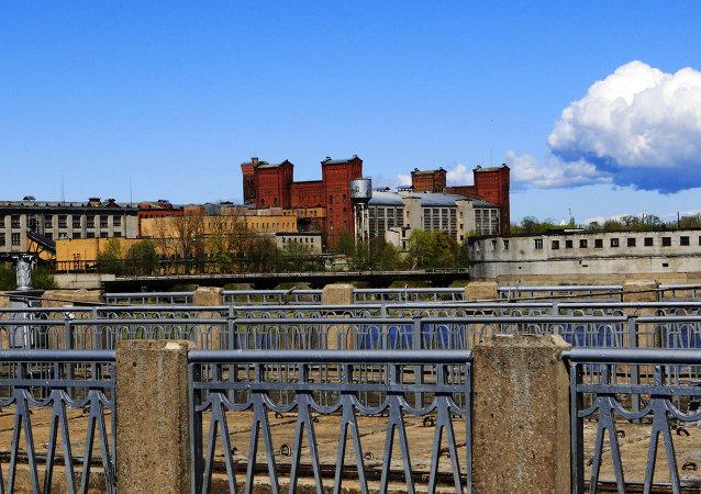 Rusko-estonská hranice, Narva