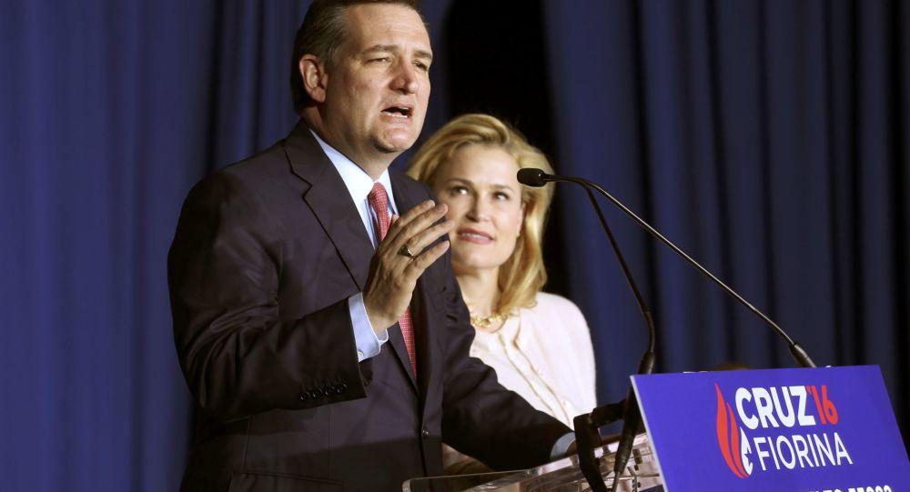 Ted Cruz s manželkou