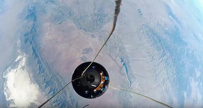 Kameru GoPro připevnili na raketu a odeslali do vesmíru