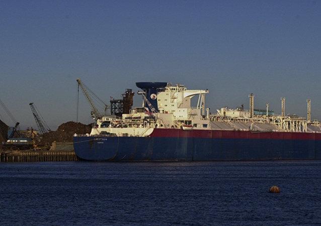 LNG tanker. Ilustrační foto