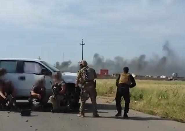 Média odhalila video smrti příslušníka amerických speciálních sil v Sýrii
