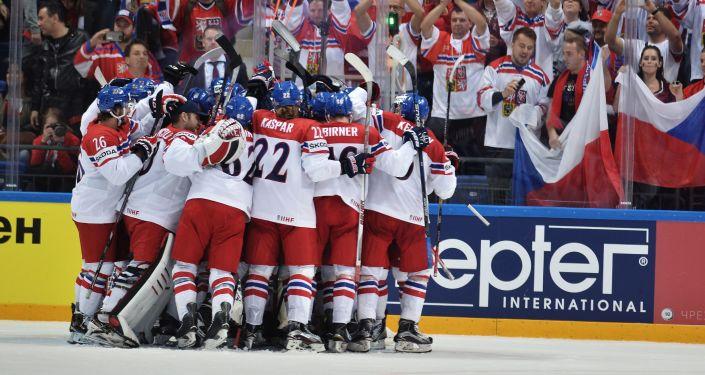 Čeští hokejisté