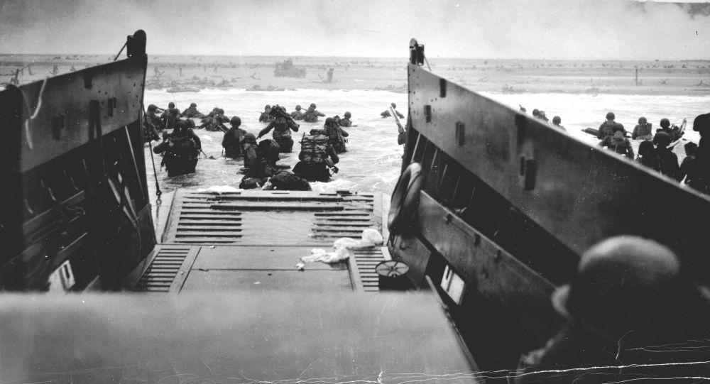 Američtí vojáci ve městě Omaha