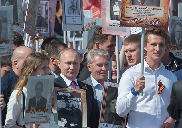 Akce Nesmrtelný pluk v Rusku i v zahraničí