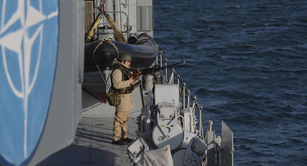 Vojenská cvičení NATO v Černém moři. Ilustrační foto