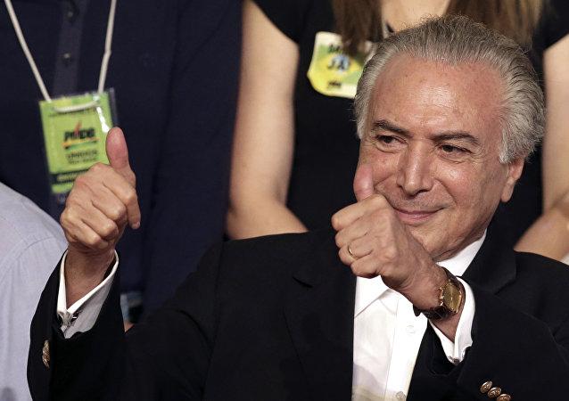Prezident Brazílie Michel Temer