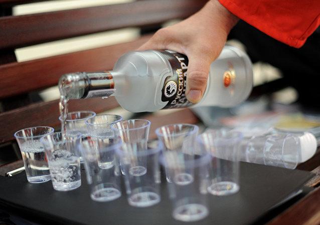 Vodka. Ilustrační foto