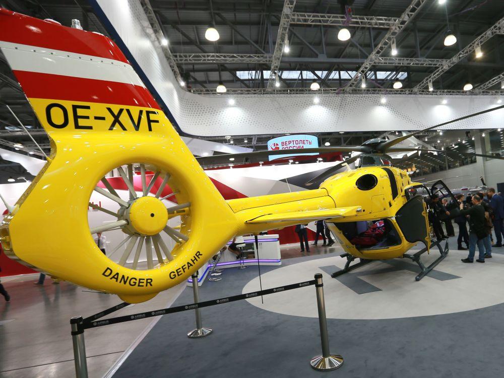 Nejnovější technika vrtulníkového průmyslu na HeliRussia