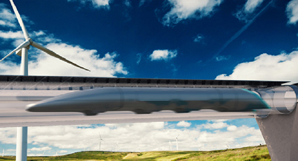 Transportní systém Hyperloop