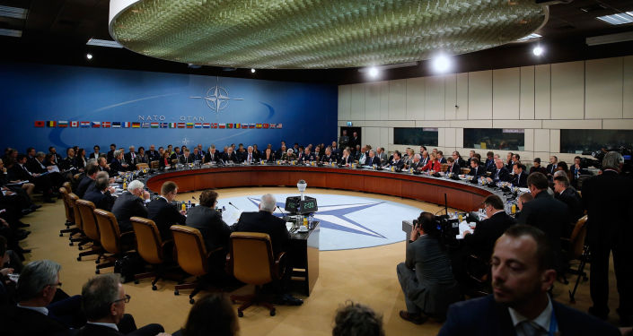 Sídlo Severoatlantická aliance v Bruselu