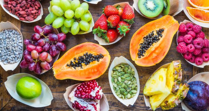 Ovoce – овощи.
