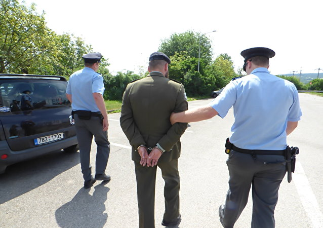 Zadržení Martina Zapletala