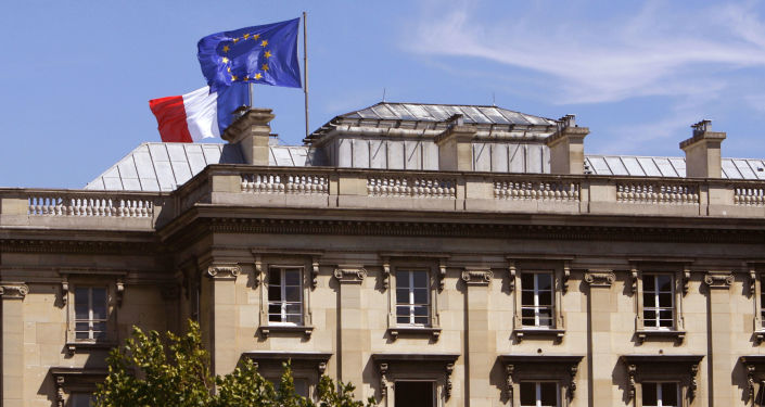 Budova MZV Francie v Paříži
