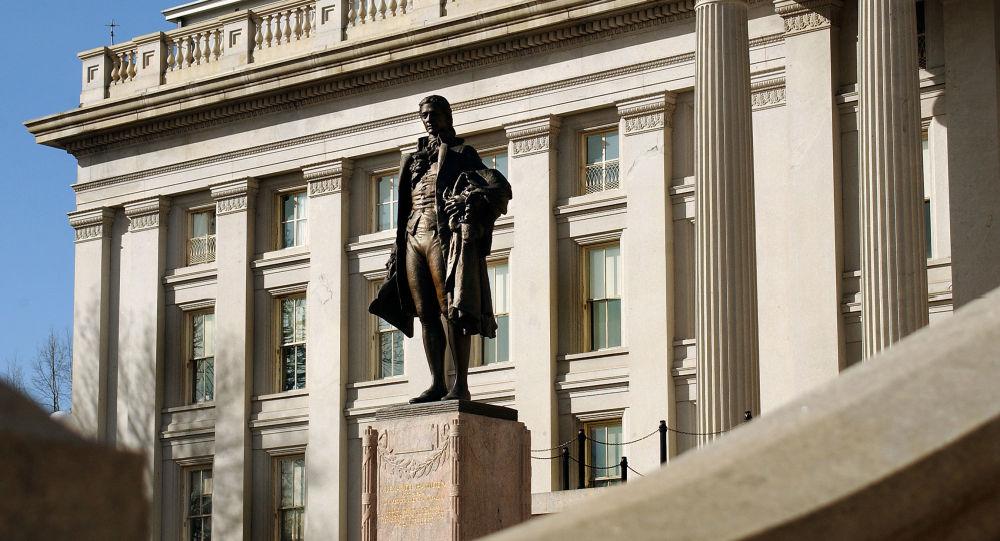 Ministerstvo financí USA.