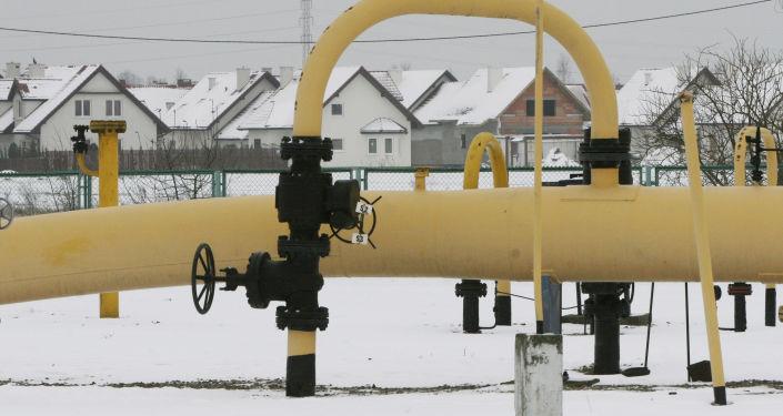Plynová stanice v Polsku. Ilustrační foto