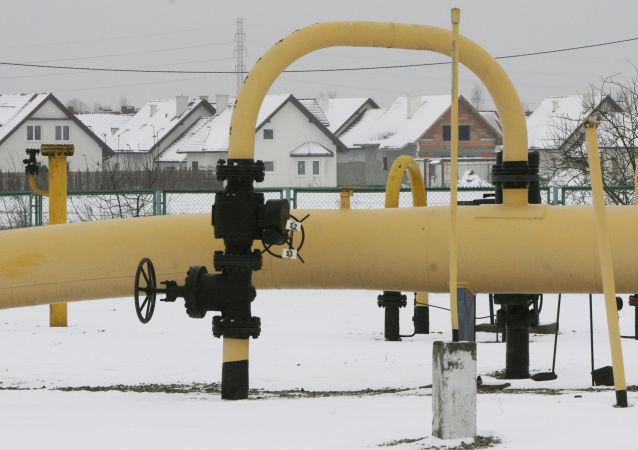 Plynová stanice v Polsku