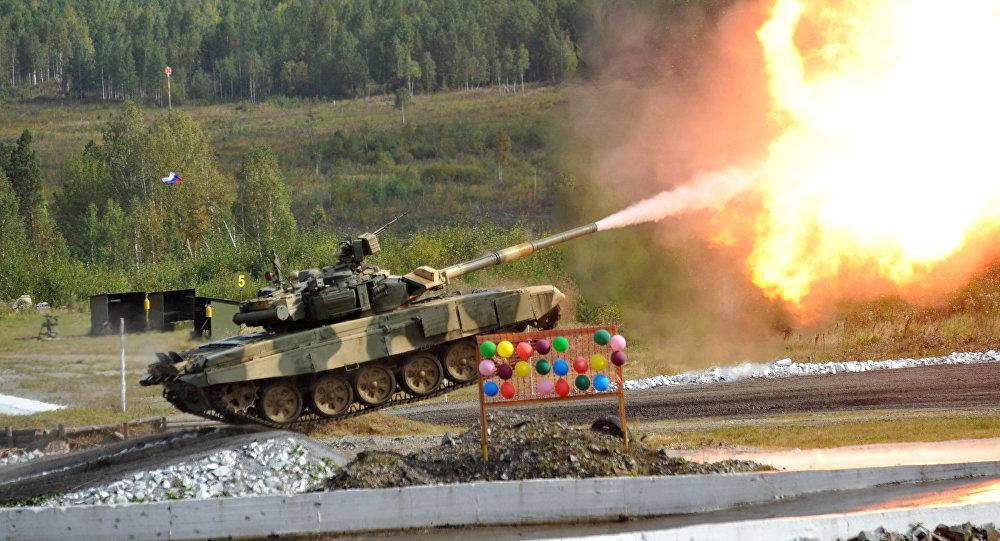 Ruský tank Т-90С