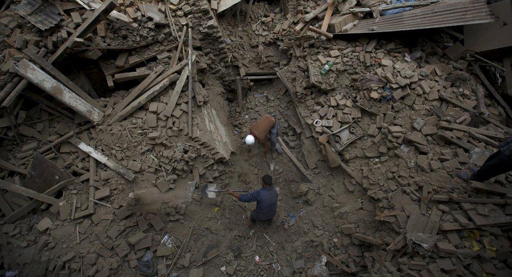 Zemětřesení v Nepálu