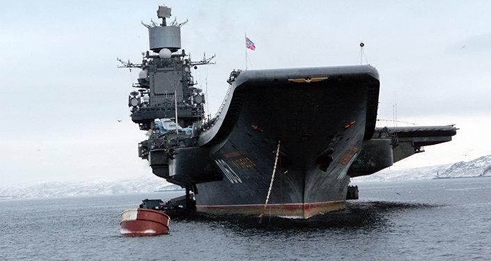 Letadlová loď Admiral Kuznetsov