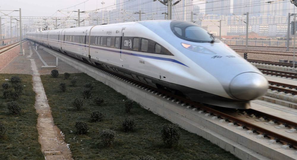 Čínský vysokorychlostní vlak