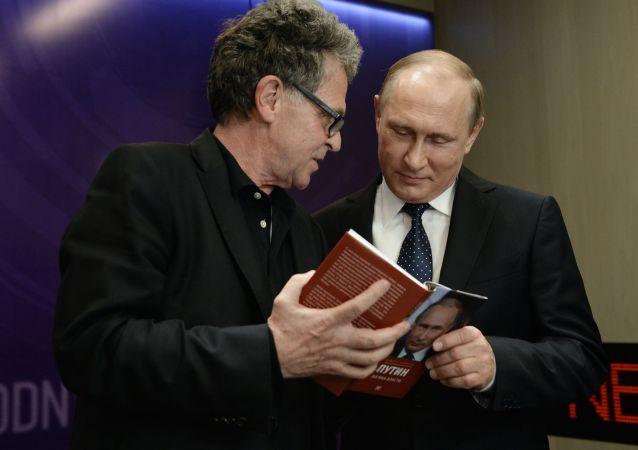 Vladimir Putin během médiafóra