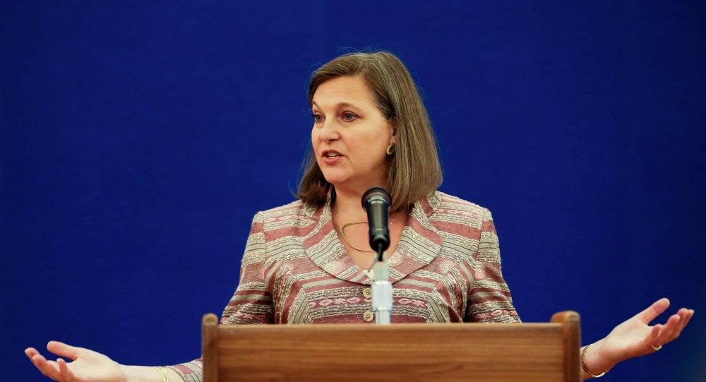 Pomocnice ministra zahraničních věcí USA Viktoria Nulandová