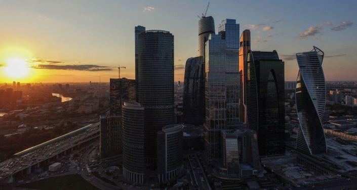 Mezinárodní obchodní centrum v Moskvě Moskva-City