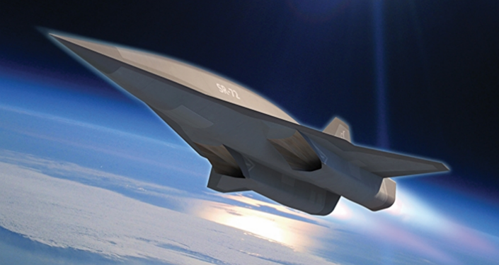 Concept drawing of a hypersonic aircraft. Ilustrační foto