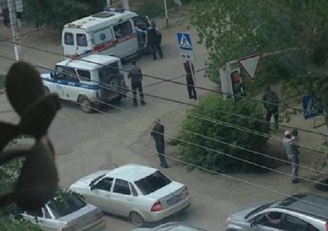 Útok radikálů v Aktobe