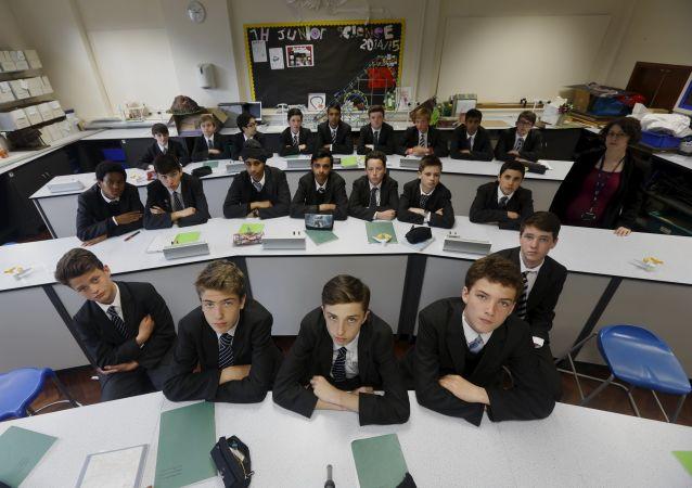 Britští školáci