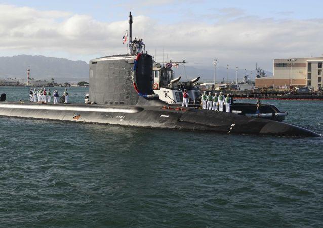 Americká víceúčelová atomová ponorka Mississippi