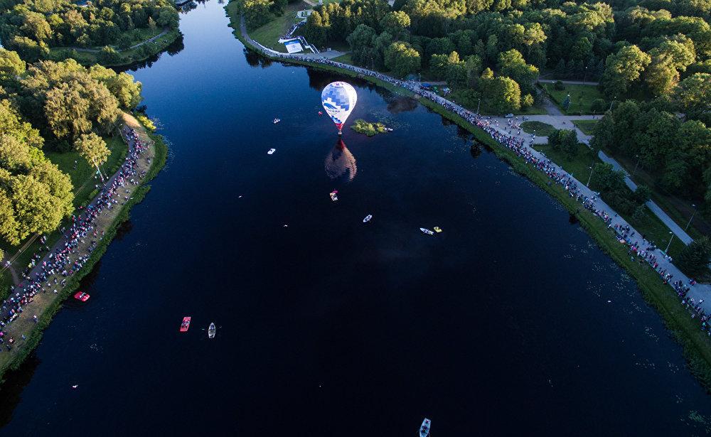 Závody pilotů vzdušných balónů
