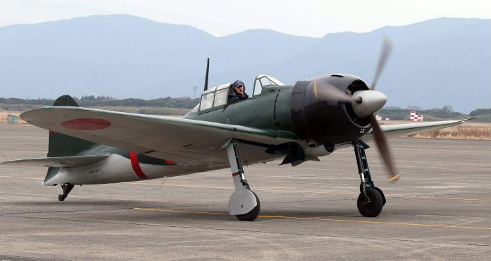 Jaonská stíhačka Mitsubishi A6M Zero