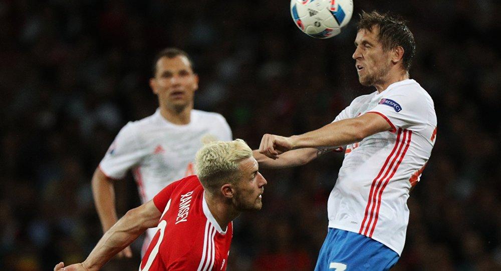 Ruský tým v pondělí prohrál s týmem Walesu v zápase třetího kola skupiny B 0:3