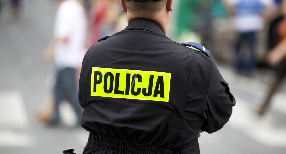 Polský policejní důstojník. Ilustrační foto