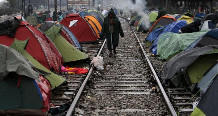 Tábor pro uprchlíky