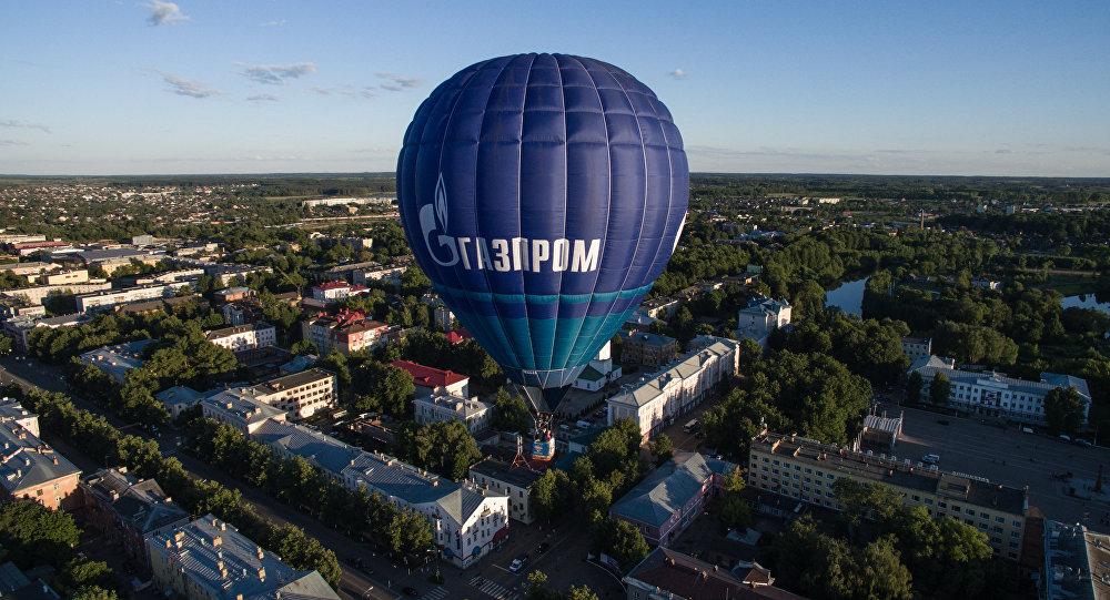 Horkovzdušný balón Gazprom