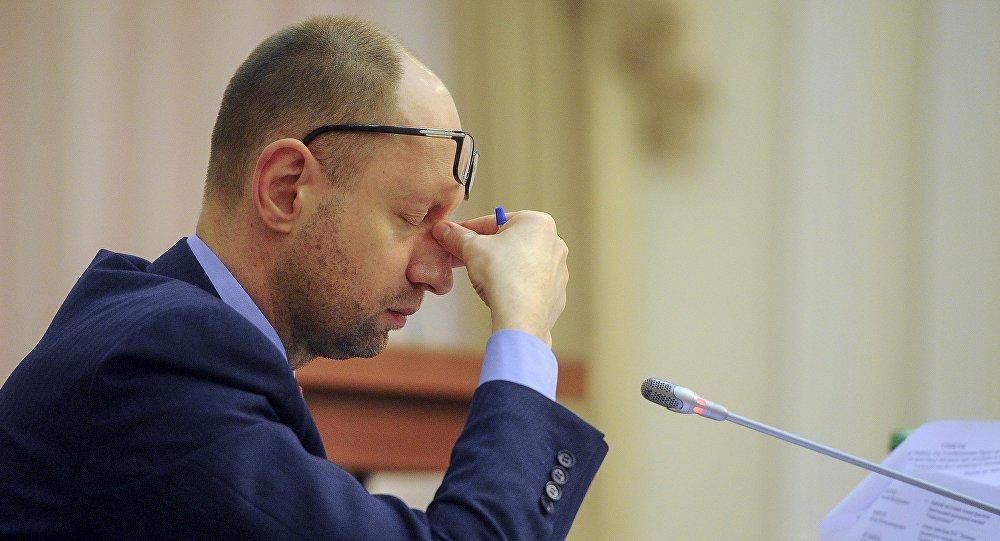 Bývalý ukrajinský premiér Arsenij Jaceňuk