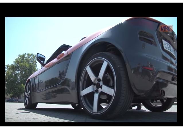 V Simferopolu představili ruský roadster Krym