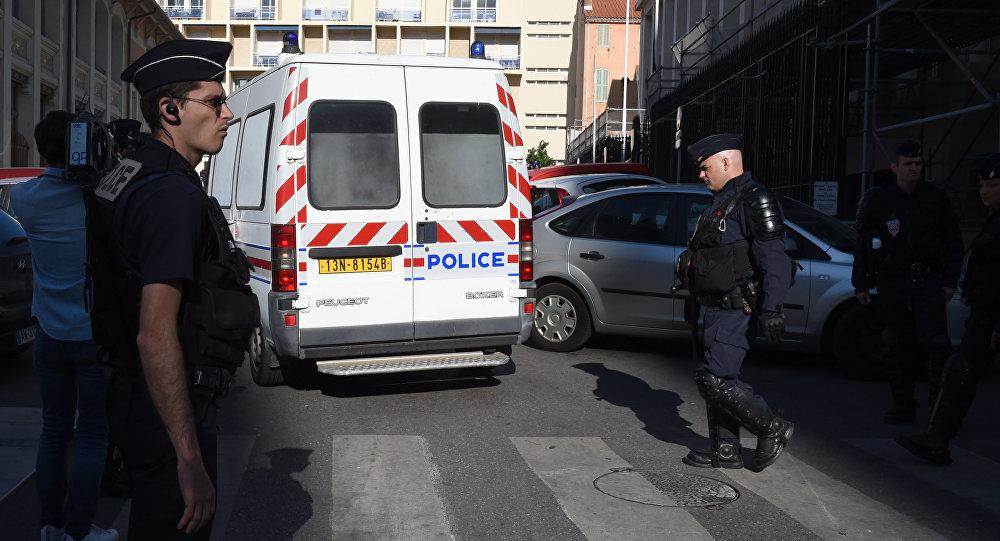 Policie v Marseille. Archivní foto